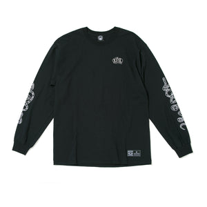 AXEL BOARD SLIDE LONG SLEEVE TEE - BLACK
