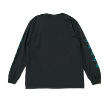 COLLIN TOY NAME  LOGO  LONG SLEEVE TEE -BLACK