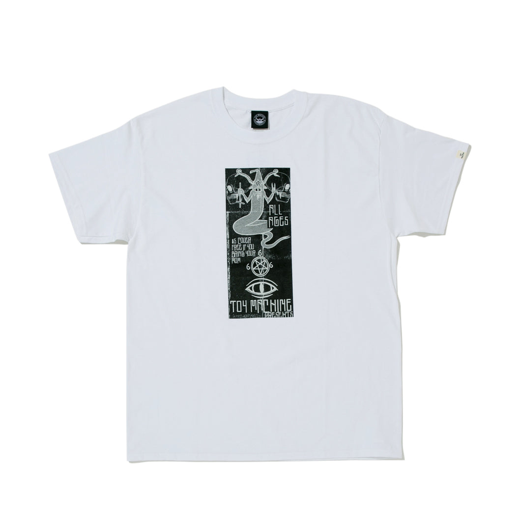TOYFLIERS_PROVOST SHORT SLEEVE TEE -WHITE-