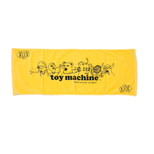 TOYMONSTER PRINT TOWEL - YELLOW