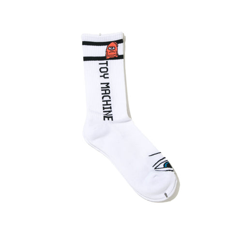 SECT EYE SOCKS - WHITE
