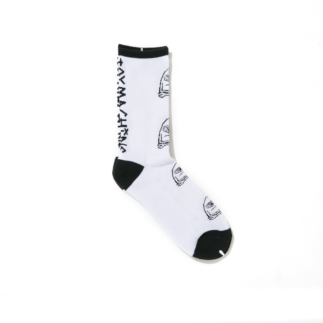 SECT WAX SOCKS - WHITE