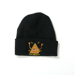 ALL SEEING SECT  BEANIE - BLACK