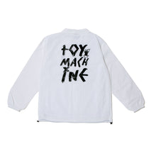 TOYMACH LOGO COACH JACKET -WHITE-