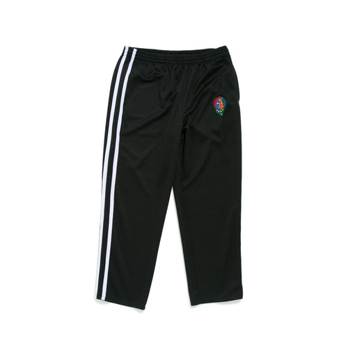 TURTLEHEAD CROPPED TRACK PANTS - BLACK