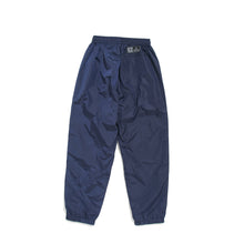 TAPE LOGO WIND PANTS - NAVY