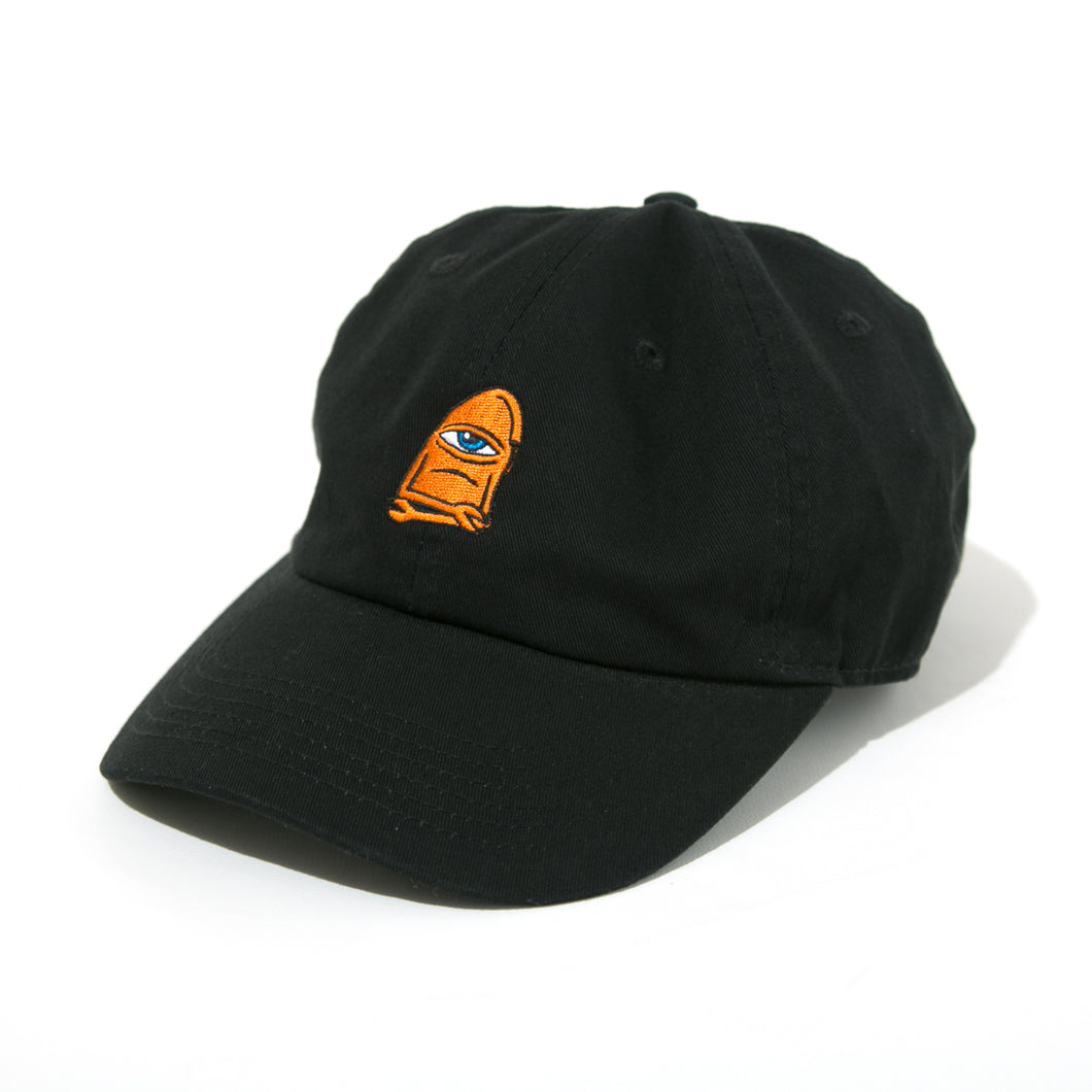 SECT-WAX  EMBROIDERY CAP - BLACK