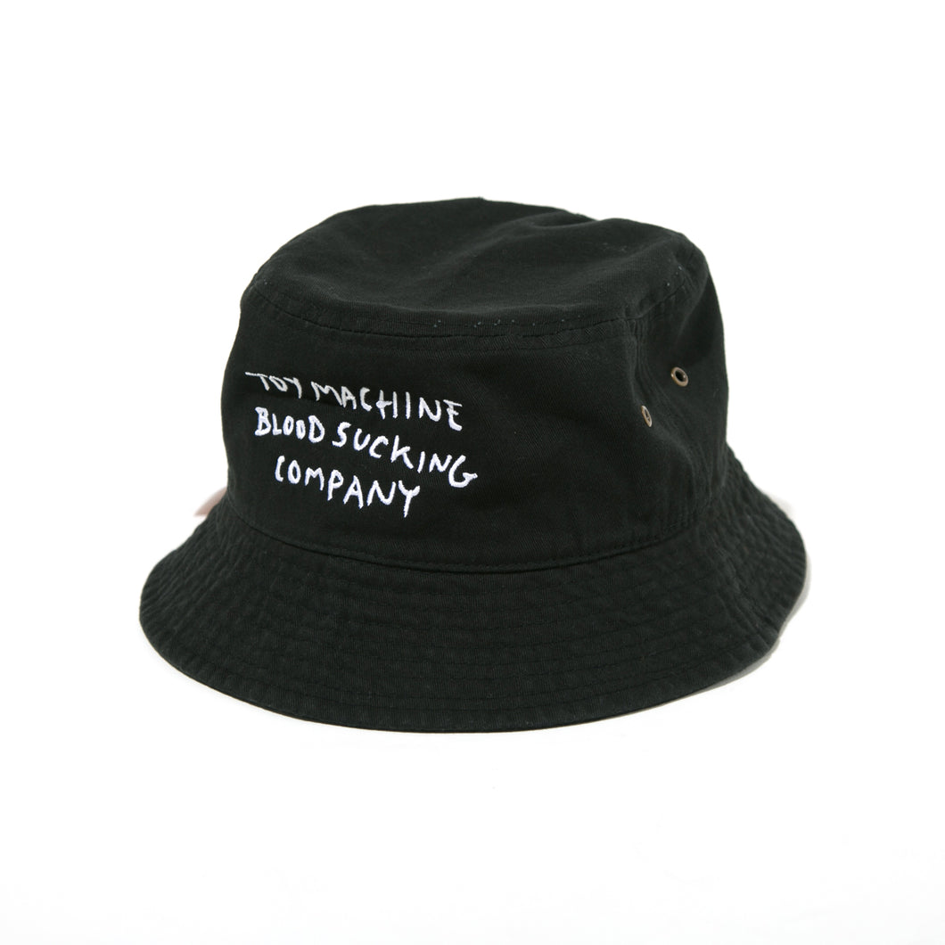 BLOODSUCKING EMBROIDERY HAT - BLACK