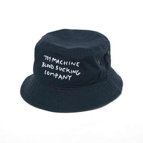 BLOODSUCKING EMBROIDERY HAT - NAVY
