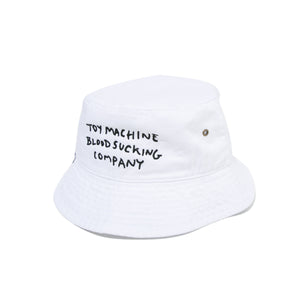 BLOODSUCKING EMBROIDERY HAT - WHITE