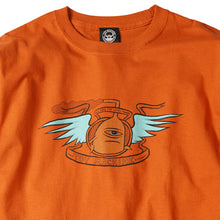 LOYAL PAWNS LONG TEE - D. ORANGE