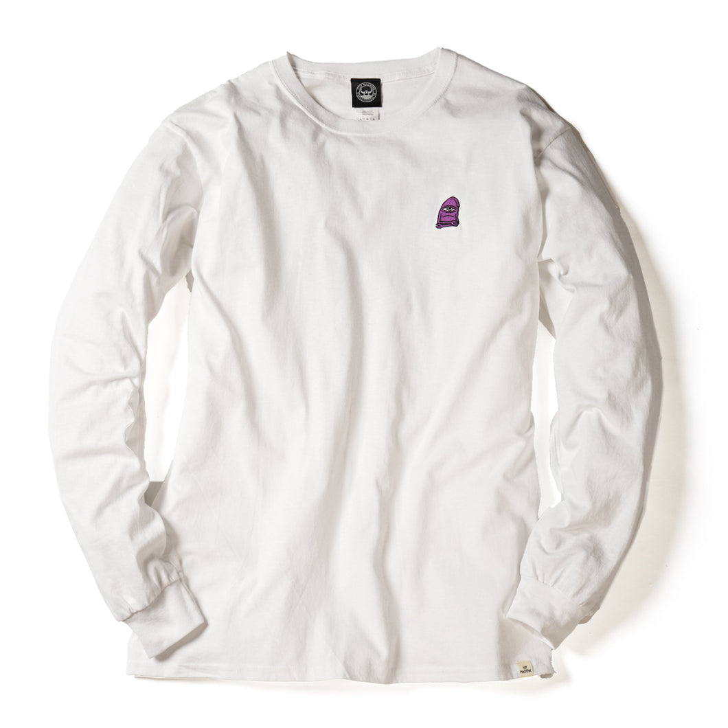 SECT STAFF GRADATION LONG TEE - WHITE