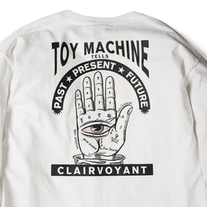 CLAIRVOYANT LONG TEE - WHITE