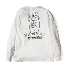 WELCOME TO HELL LONG TEE - WHITE