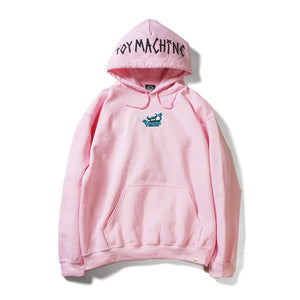 OG MONSTER EMBROIDERY SWEAT PARKA - L. PINK