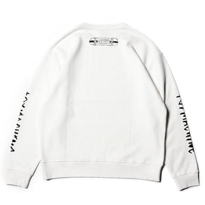 THE CREW SWEAT CREW NECK - WHITE