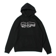 FIST SWEAT PARKA - BLACK