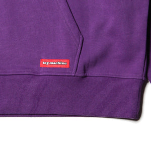 FIST SWEAT PARKA - PURPLE