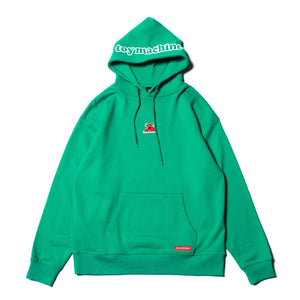 TOYMONSTER EMBRO SWEAT PARKA - B. GREEN