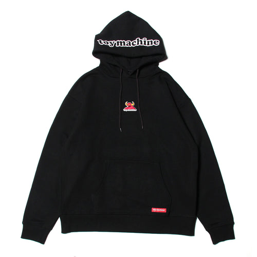 TOYMONSTER EMBRO SWEAT PARKA - BLACK