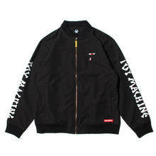 DEAD MONSTER BOMBER JACKET - BLACK