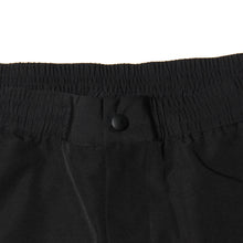 SIDE LOGO WIND PANTS - BLACK