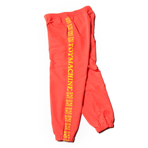 SIDE LOGO WIND PANTS - ORANGE