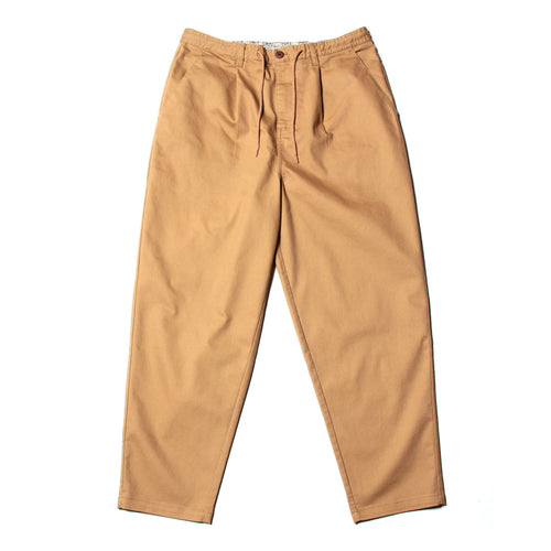 WIDE EASY PANTS - BEIGE