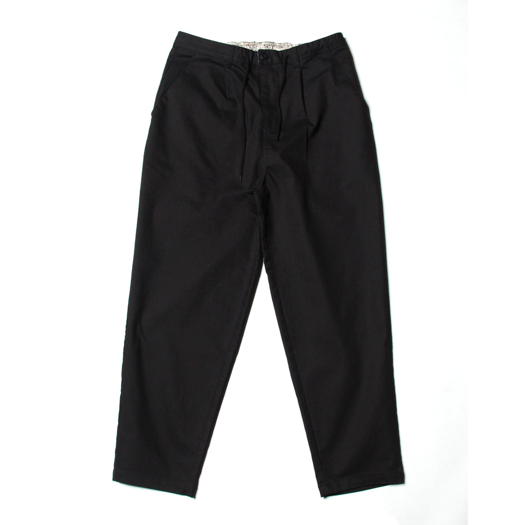 【LINE登録者限定特典付】WIDE EASY PANTS - BLACK