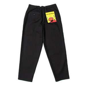 WIDE EASY PANTS - BLACK