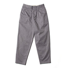 WIDE EASY PANTS - CHARCOAL