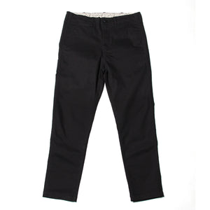SLIM TAPERED PANTS - BLACK