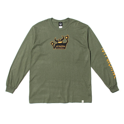 ORIGINAL MONSTER PT LONG TEE - M.GREEN