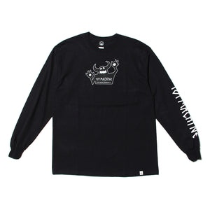 ORIGINAL MONSTER PT LONG TEE - BLACK