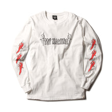 PEPPER SECT LONG TEE - WHITE