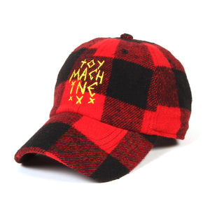 TOYMACH WOOL CHECK CAP - RED