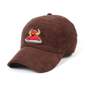 TOYMONSTER CORDUROY CAP - BROWN