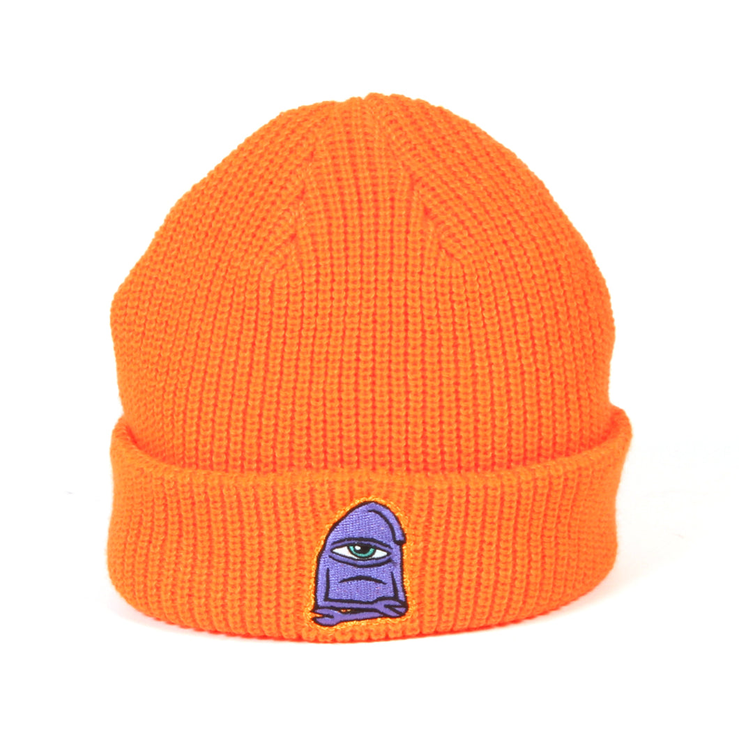 SECT WAX EMBROIDERY BEANIE - ORANGE