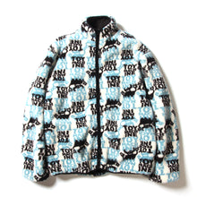 BOA FLEECE REVERSIBLE JACKET - WHITE/BLACK