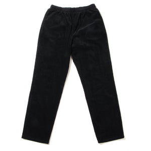 STRETCH CORDUROY SKATE PANTS - BLACK