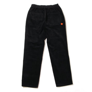 STRETCH CORDUROY SAKTE PANTS - BLACK