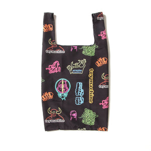 TOYMACHINE GROCERY BAG - BLACK