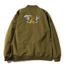 LOYAL PAWN BOMBER JACKET - OLIVE