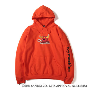 MARKED MONSTER HELLO KITTY RIBBON SWEAT PARKA - ORANGE