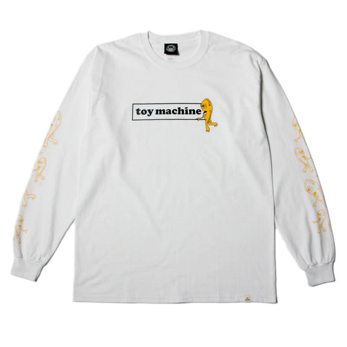 SECT BOX LOGO LONG TEE - WHITE