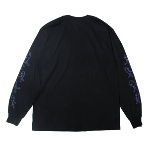 SECT BOX LOGO LONG TEE - BLACK