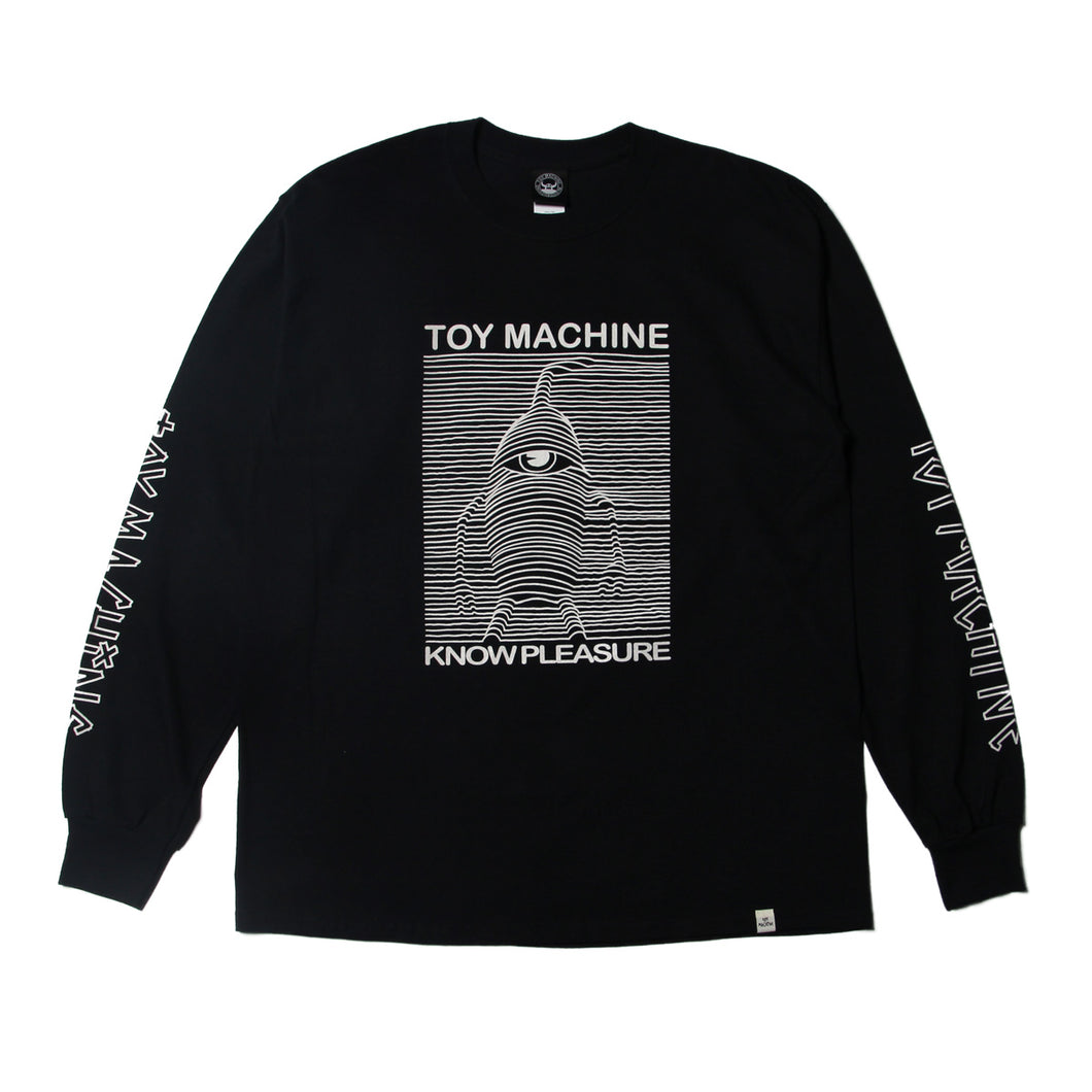 TOYDIVISION LONG TEE - BLACK
