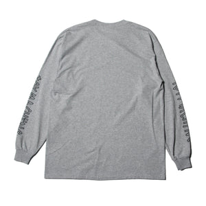 TOYDIVISION LONG TEE - M.GRAY