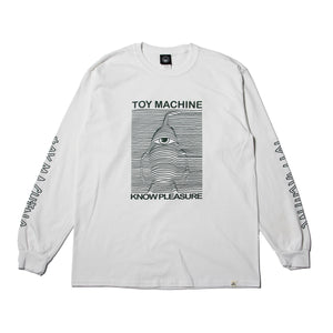 TOYDIVISION LONG TEE - WHITE