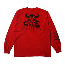 HELL MONSTER LONG TEE - RED